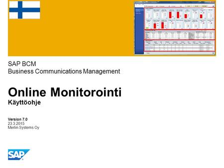 SAP BCM Business Communications Management