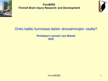 Finnish Brain Injury Research and Development
