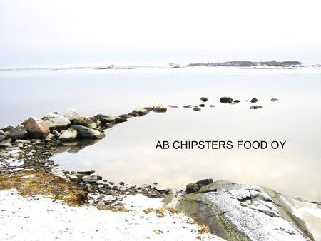 AB CHIPSTERS FOOD OY.