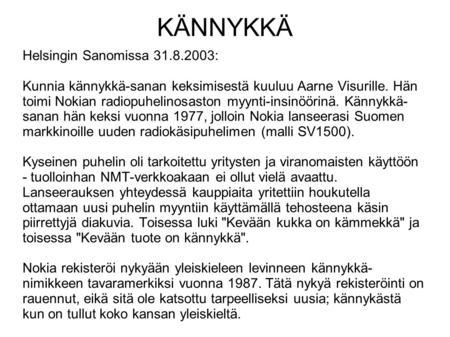 Suomen pisin sukunimi