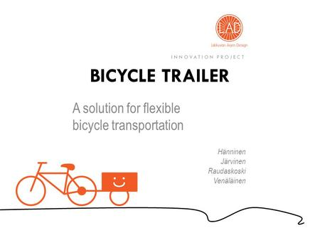 A solution for flexible bicycle transportation