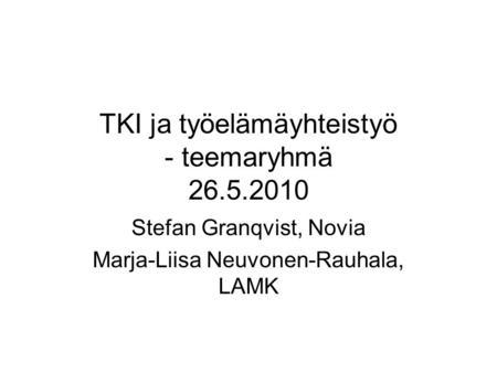sosionomin työ käytännössä Tampere