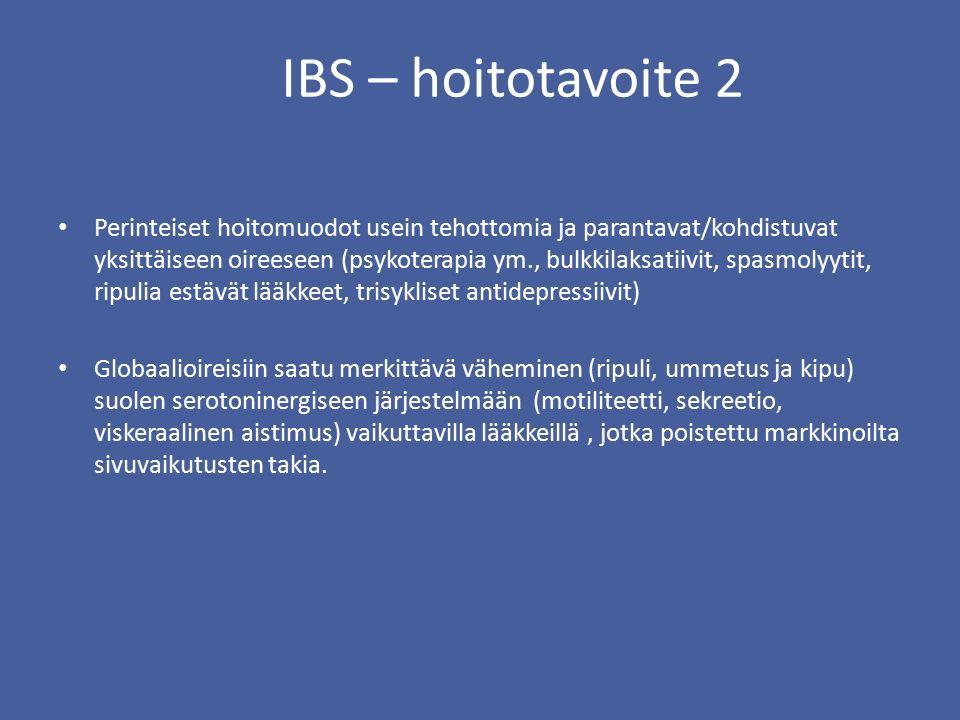 IBS – hoitotavoite 2