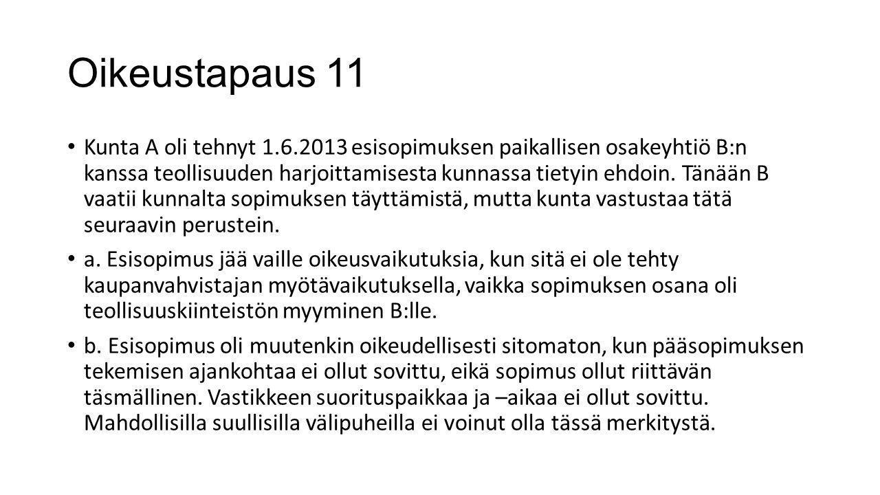 Oikeustapaus 11
