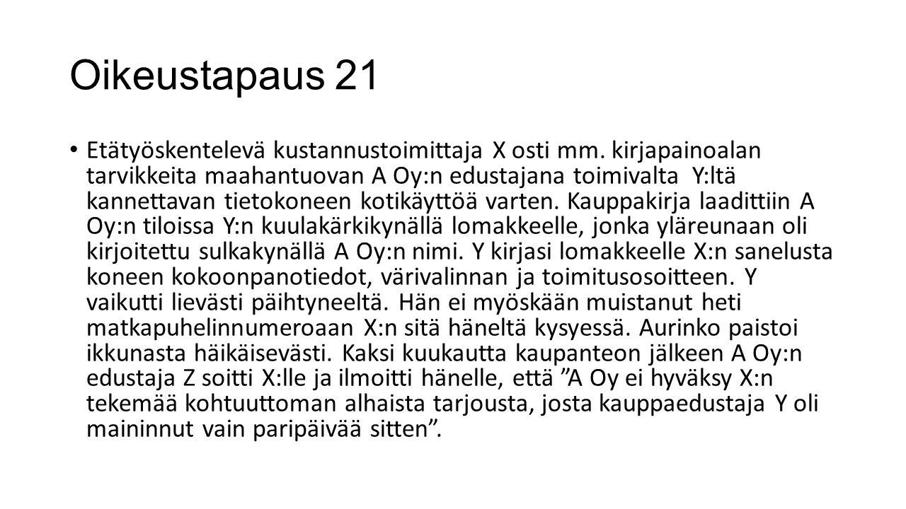 Oikeustapaus 21