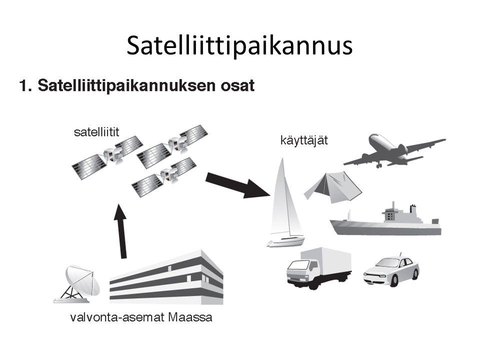 Satelliittipaikannus