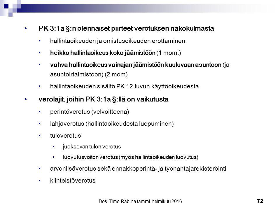 Dos. Timo Räbinä tammi-helmikuu 2016