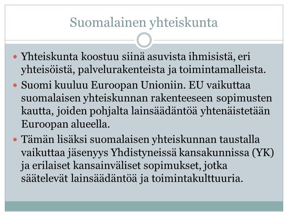 Suomalainen yhteiskunta