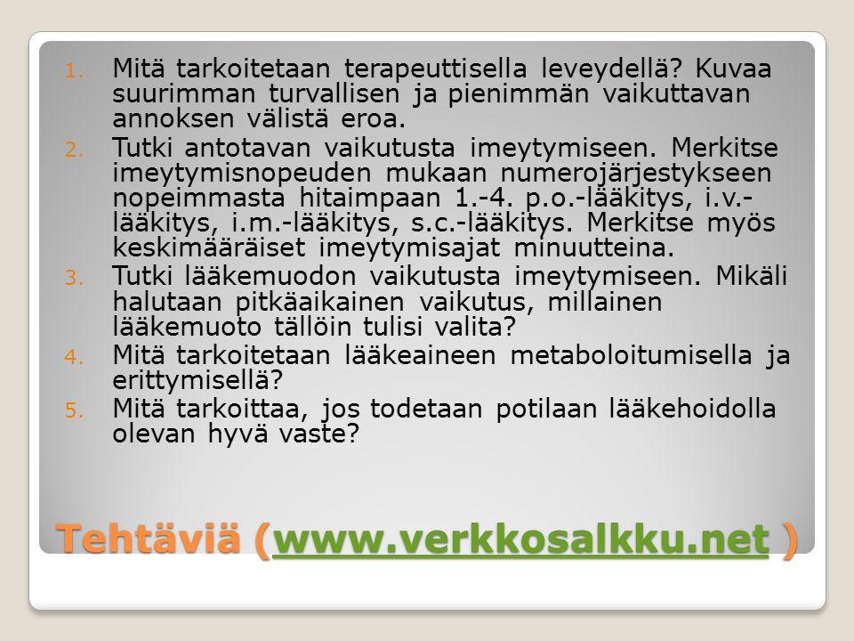 Tehtäviä (www.verkkosalkku.net )