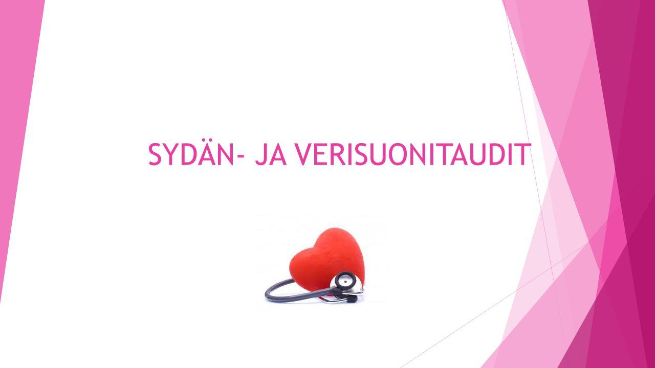 SYDÄN- JA VERISUONITAUDIT - ppt lataa