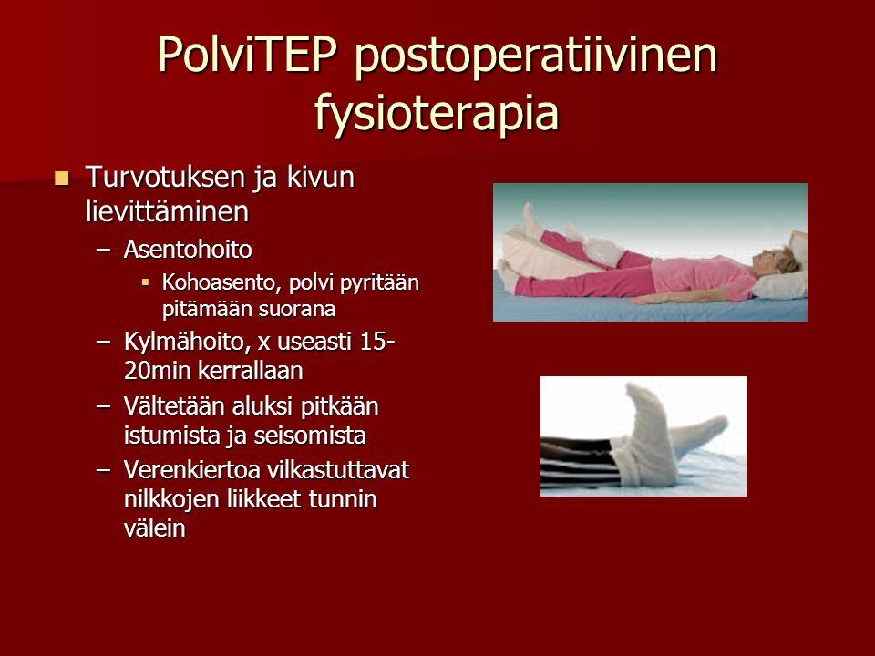 PolviTEP postoperatiivinen fysioterapia