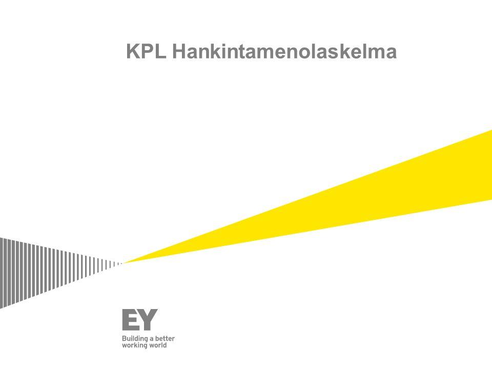 KPL Hankintamenolaskelma