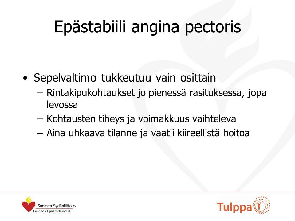 Epästabiili angina pectoris