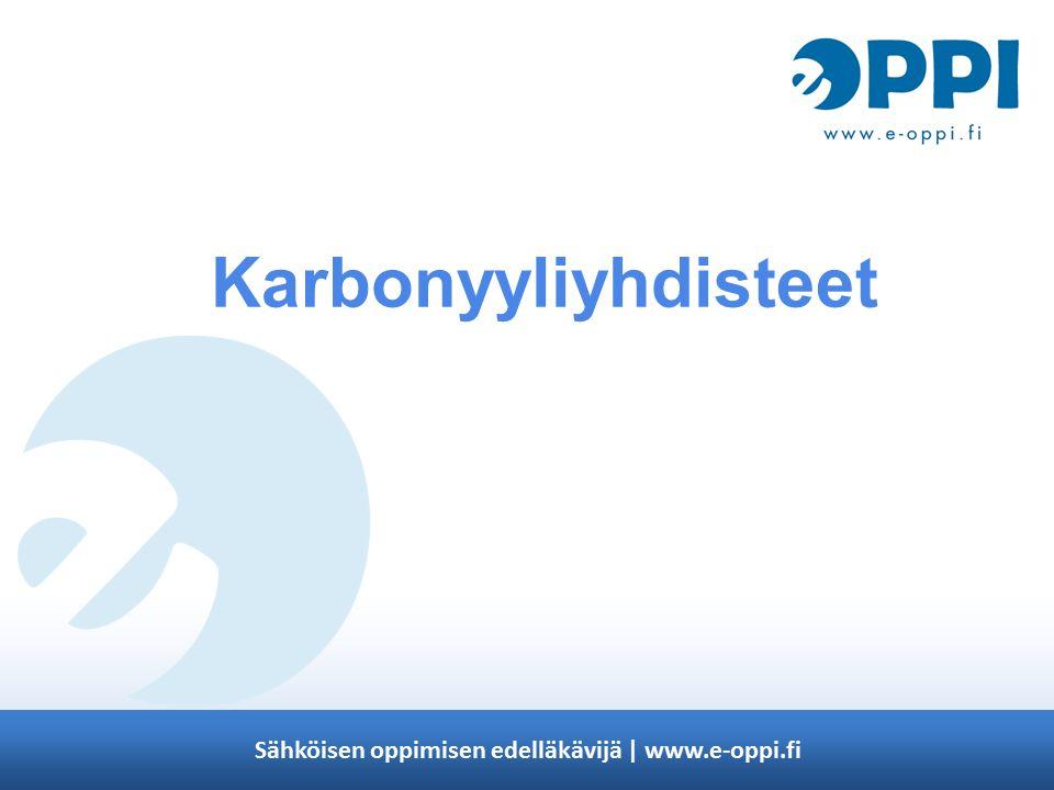 Karbonyyliyhdisteet