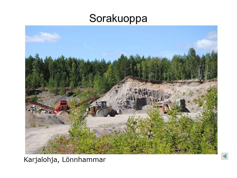 Sorakuoppa Karjalohja, Lönnhammar