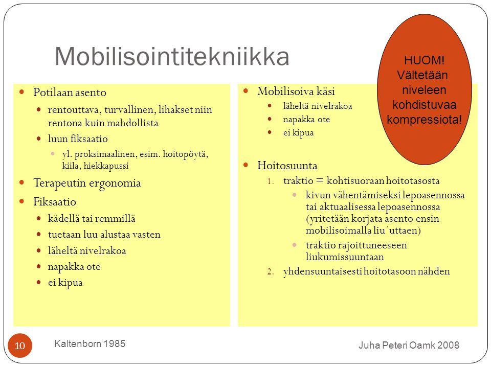 Mobilisointitekniikka