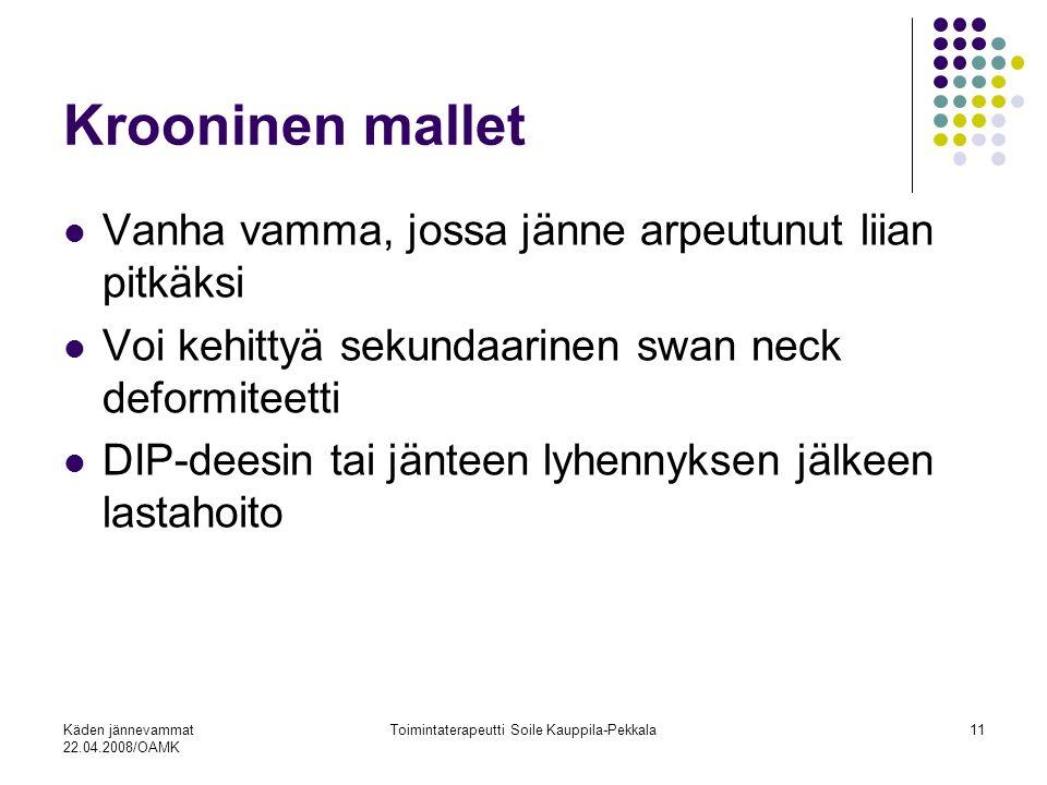 Toimintaterapeutti Soile Kauppila-Pekkala