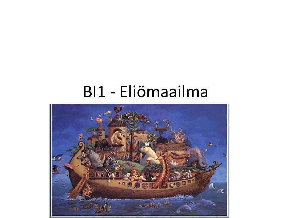 BI1 - Eliömaailma