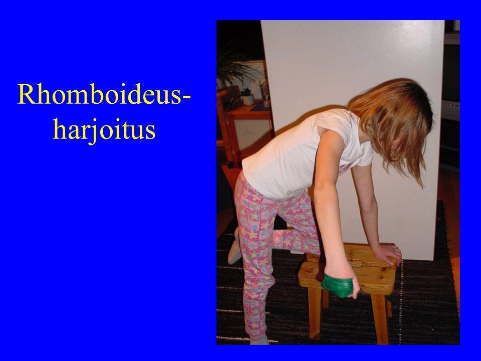 Rhomboideus-harjoitus