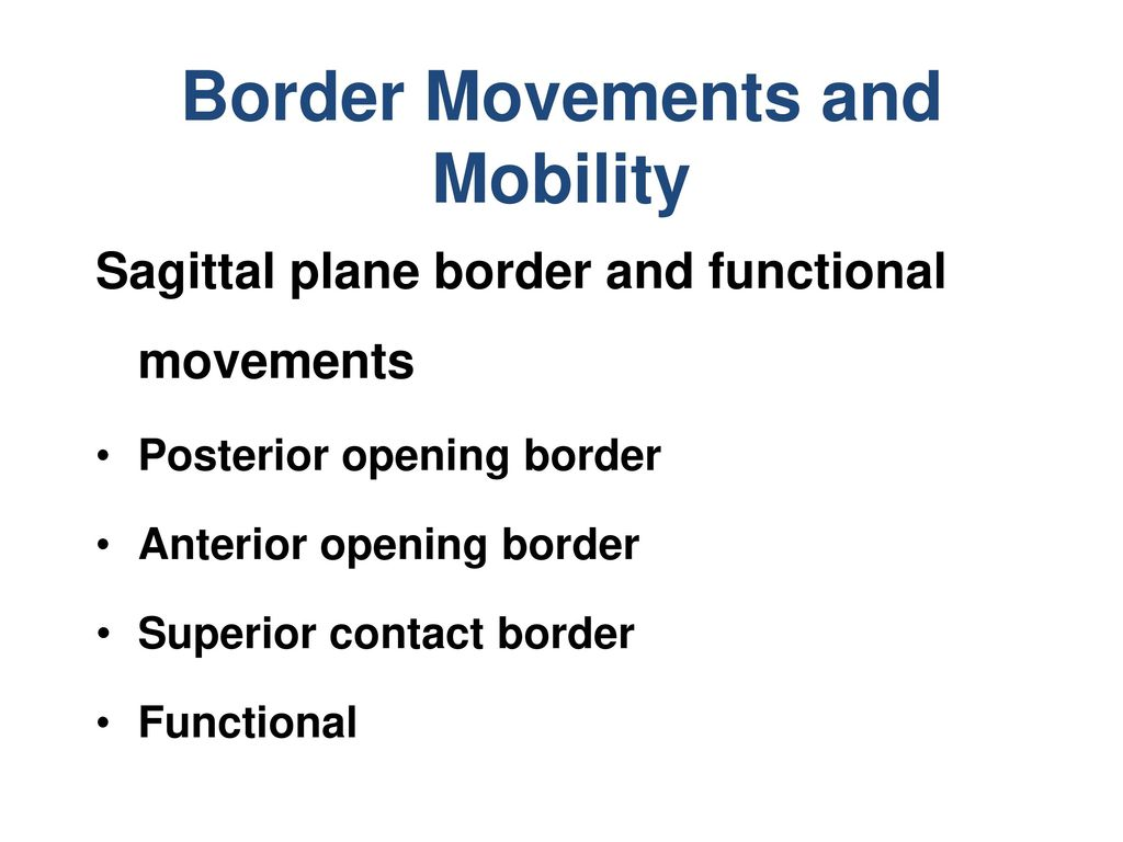 Border Movements and Mobility