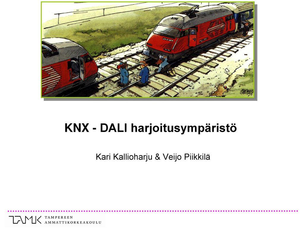 KNX - DALI harjoitusympäristö