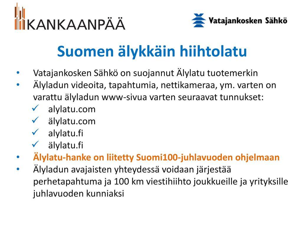 Suomen älykkäin hiihtolatu