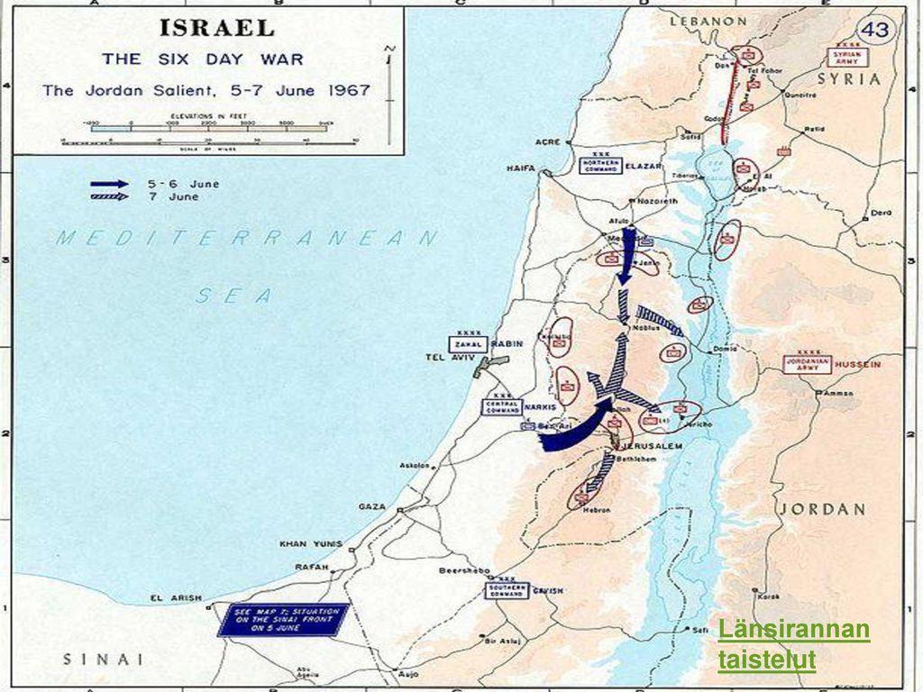 Länsirannan taistelut