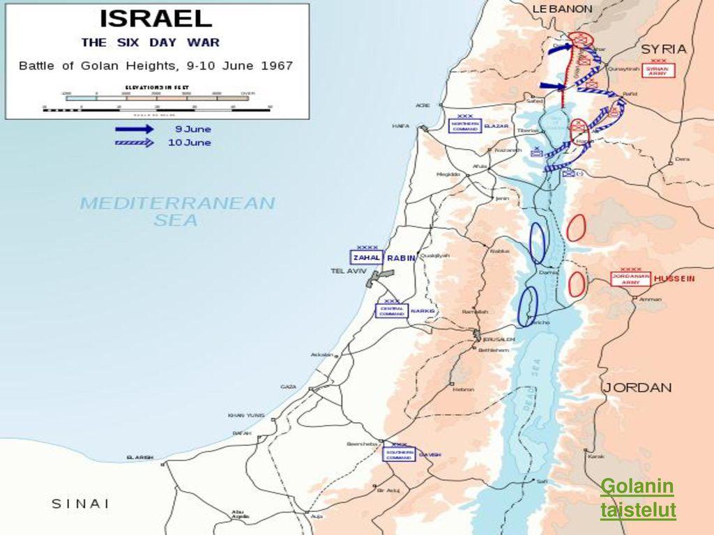 Golanin taistelut