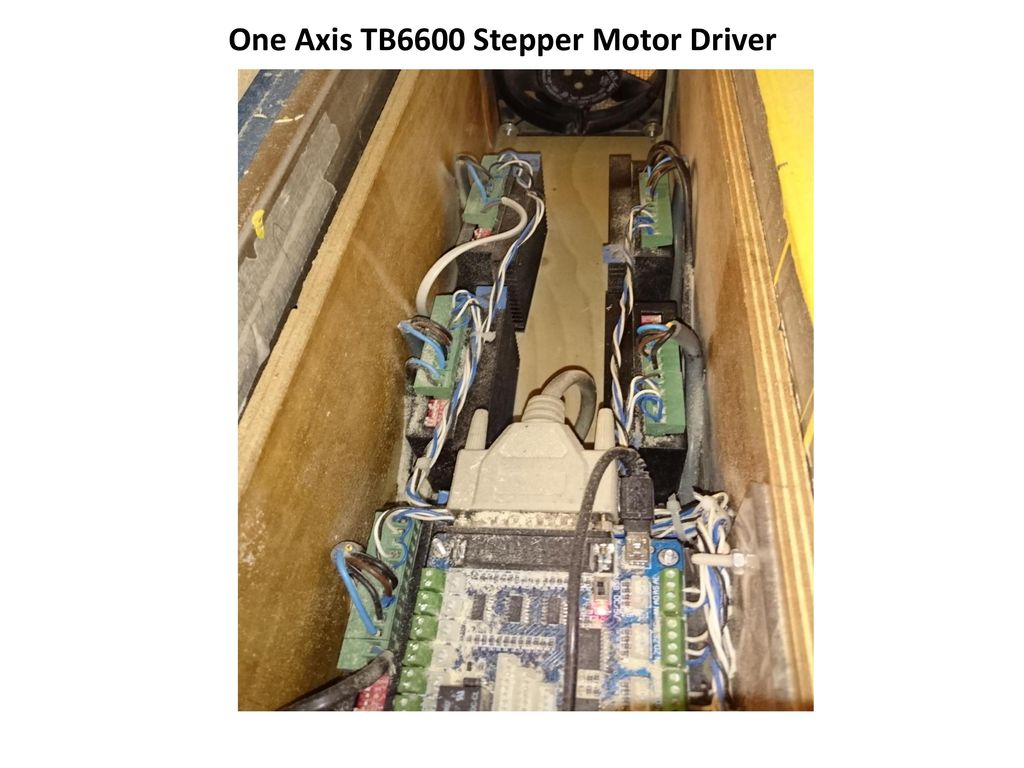 One Axis TB6600 Stepper Motor Driver