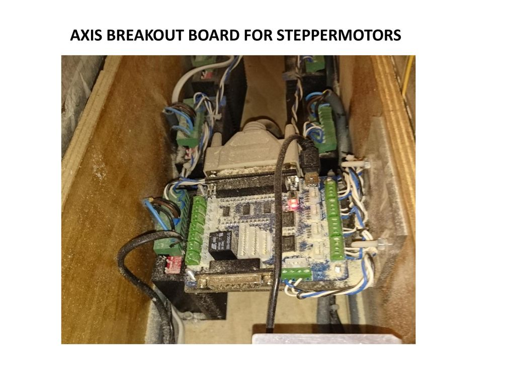 AXIS BREAKOUT BOARD FOR STEPPERMOTORS