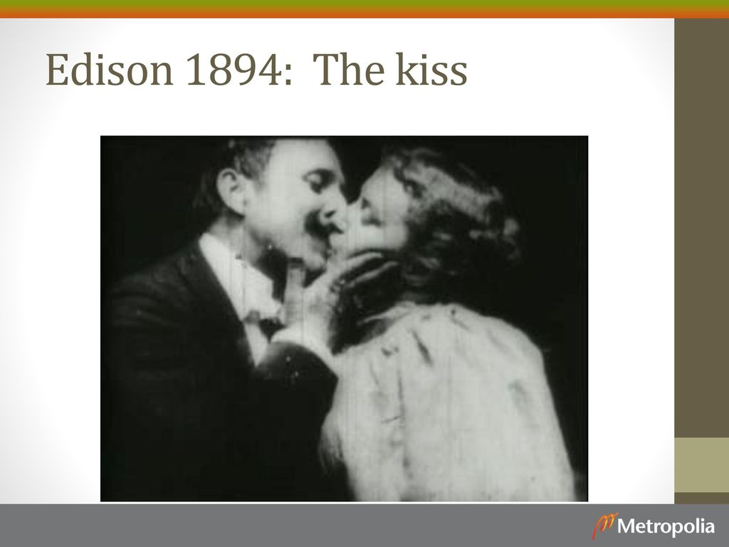 Edison 1894: The kiss