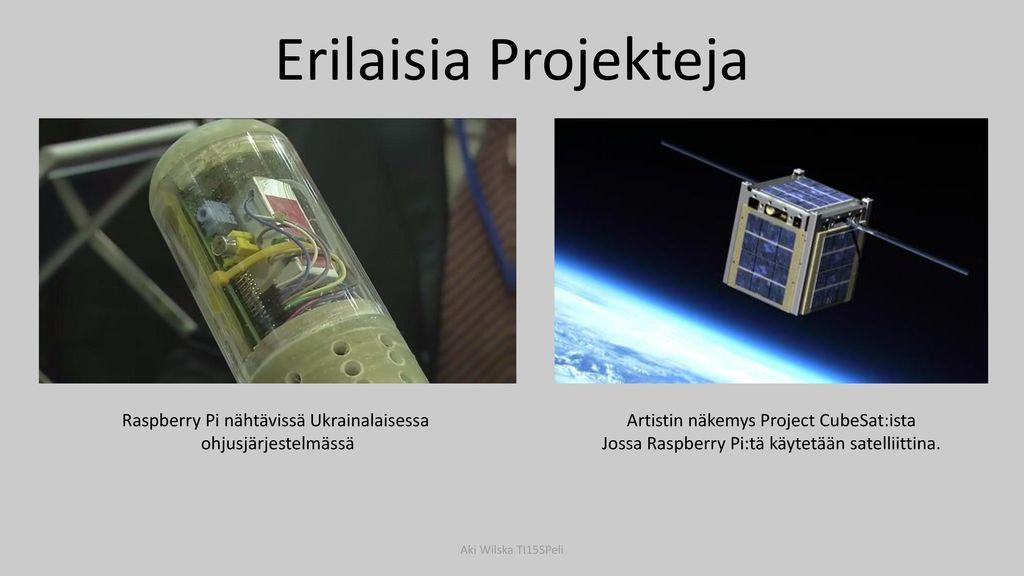 Erilaisia Projekteja Raspberry Pi nähtävissä Ukrainalaisessa