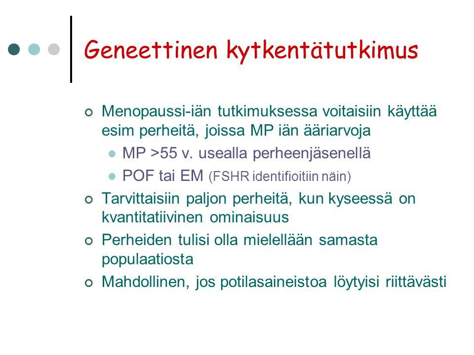 Geneettinen kytkentätutkimus