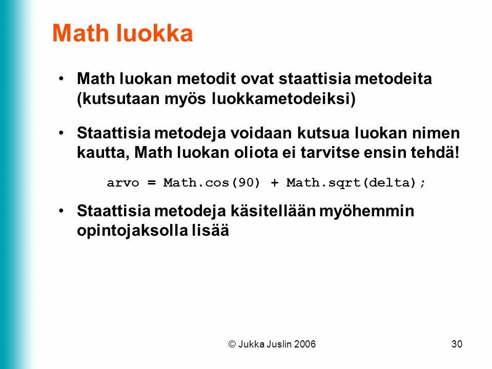 arvo = Math.cos(90) + Math.sqrt(delta);