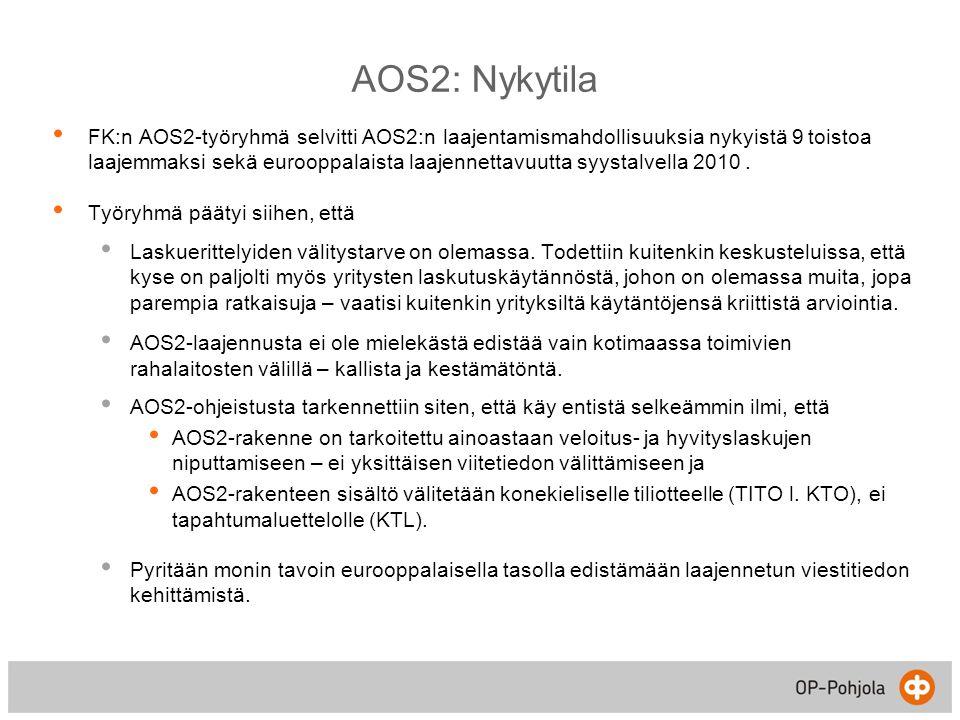 AOS2: Nykytila
