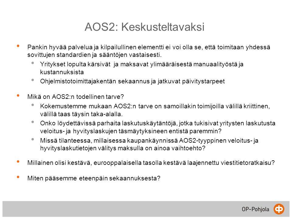 AOS2: Keskusteltavaksi