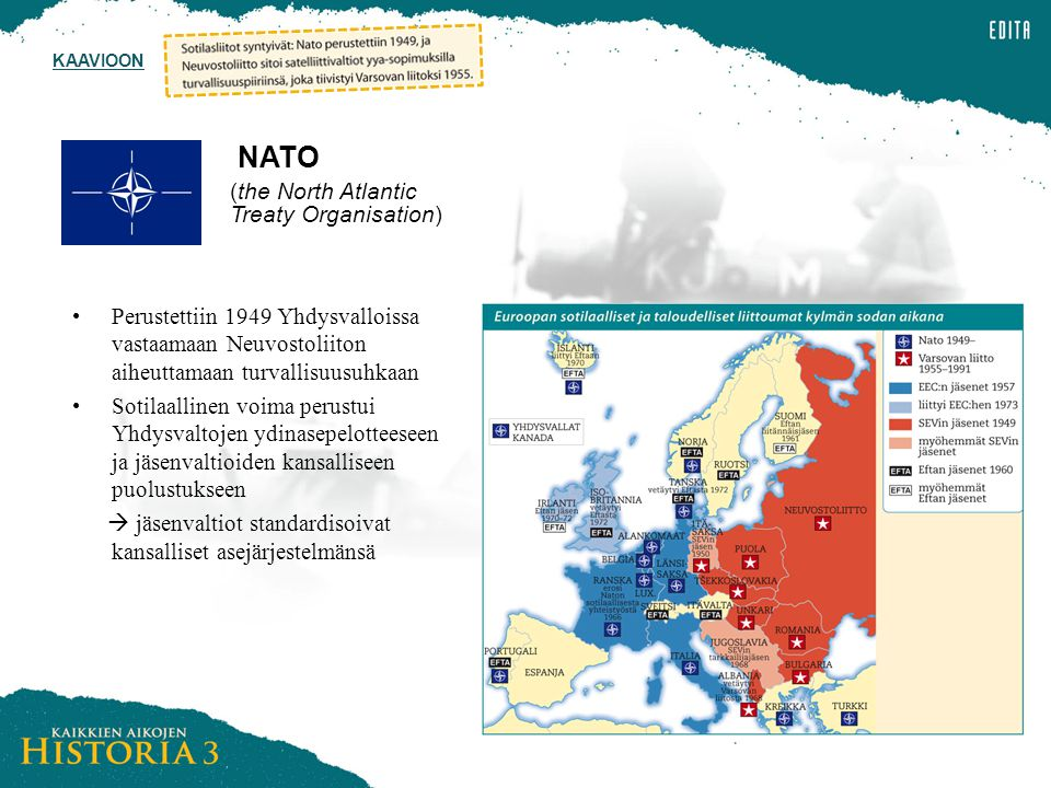 NATO (the North Atlantic Treaty Organisation)