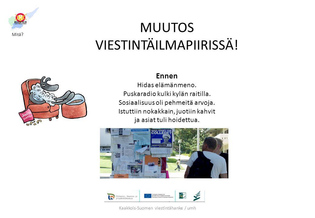 Kaakkois-Suomen viestintähanke / umh
