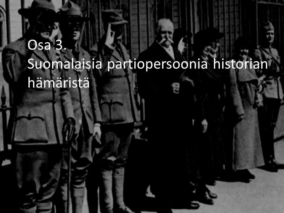 Osa 3. Suomalaisia partiopersoonia historian hämäristä
