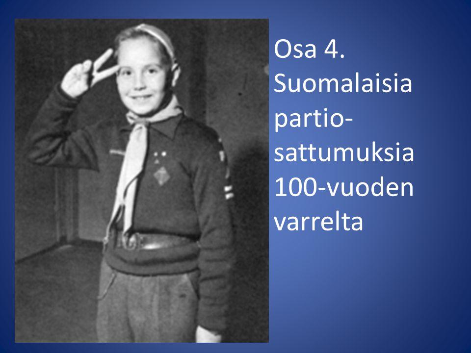 Osa 4. Suomalaisia partio- sattumuksia 100-vuoden varrelta