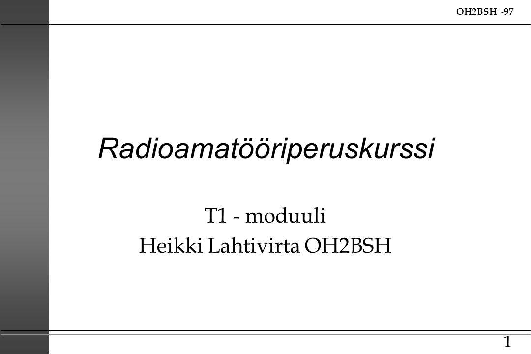 Radioamatööriperuskurssi