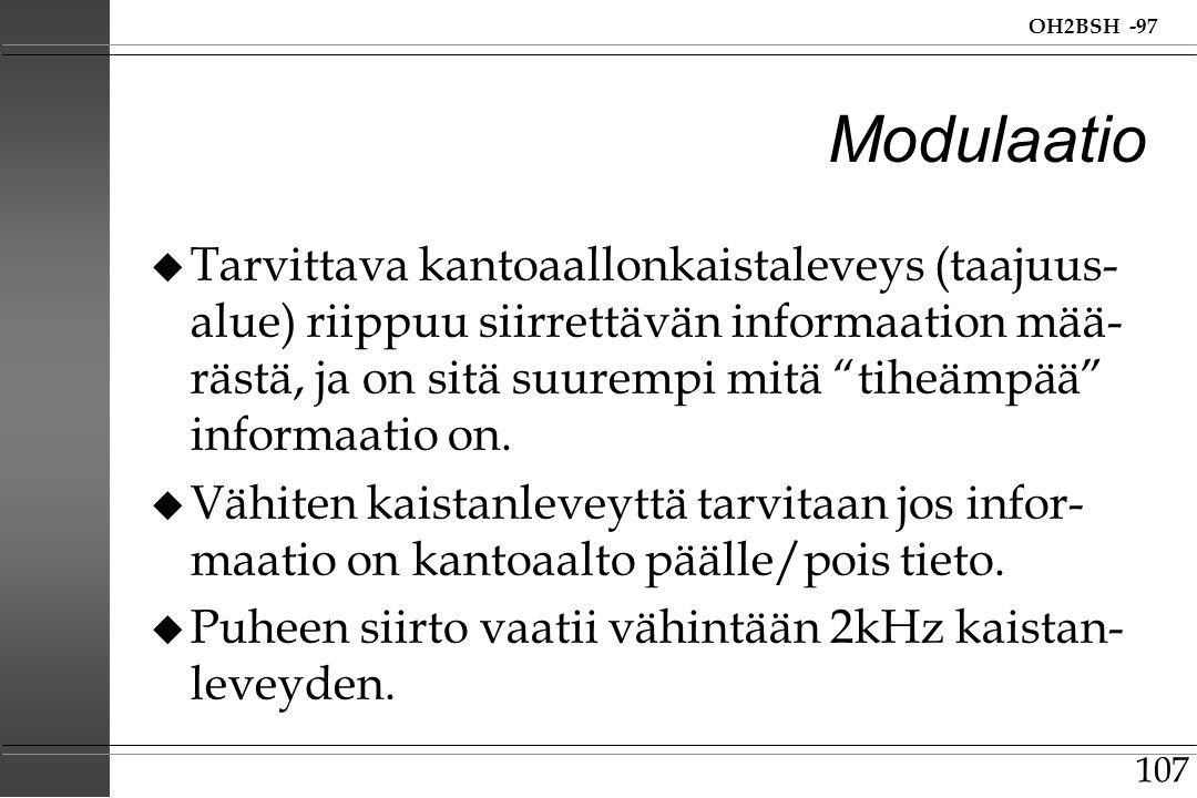 Modulaatio
