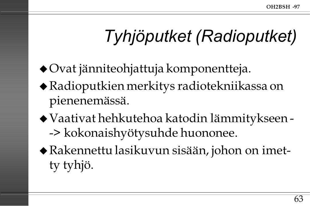 Tyhjöputket (Radioputket)