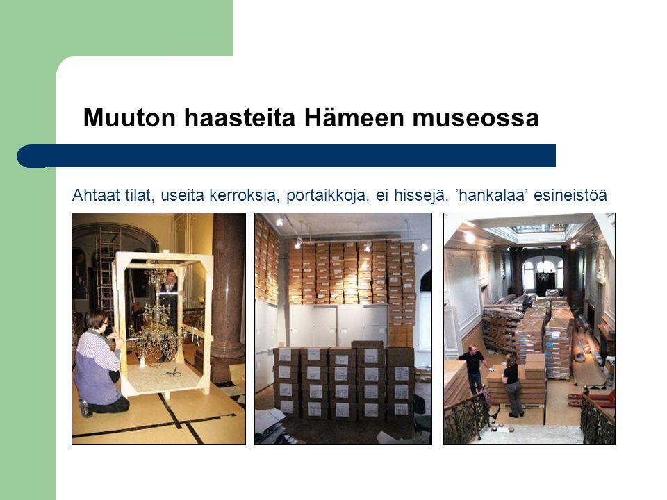 Muuton haasteita Hämeen museossa