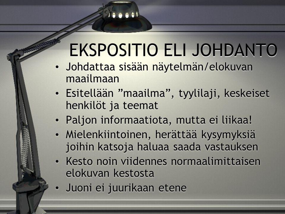 EKSPOSITIO ELI JOHDANTO