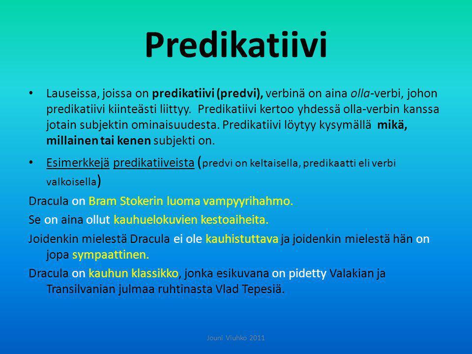 Predikatiivi