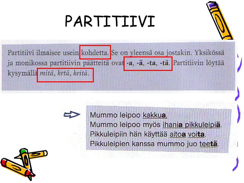 PARTITIIVI