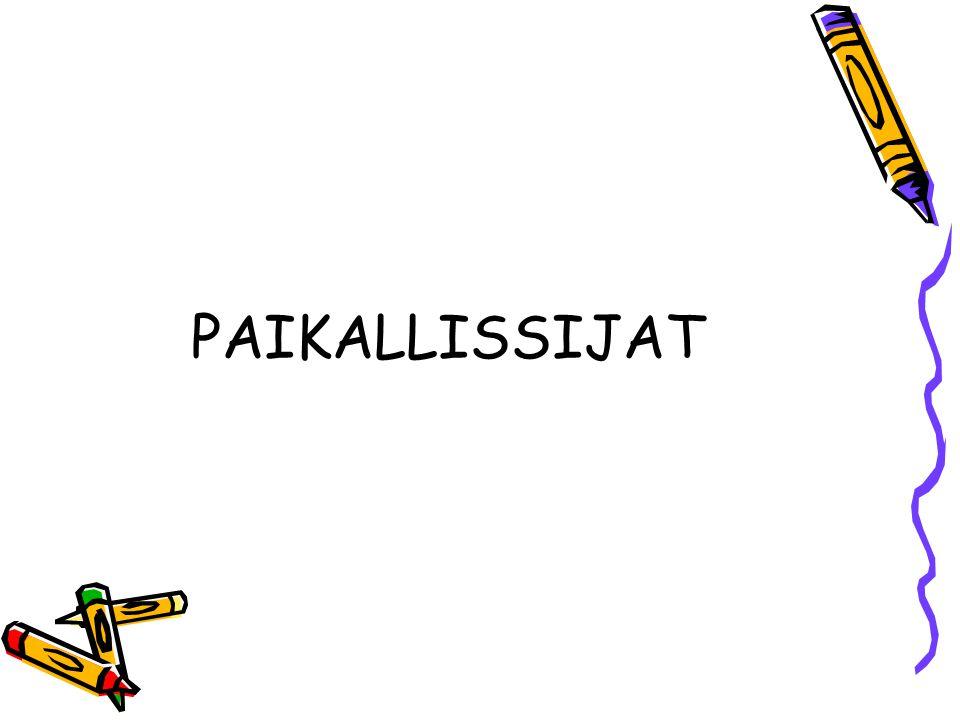 PAIKALLISSIJAT