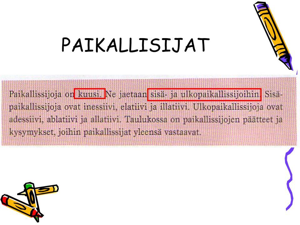 PAIKALLISIJAT