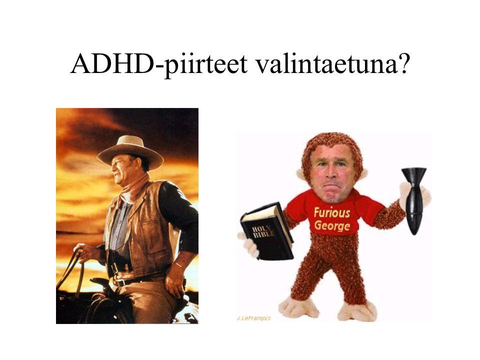 ADHD-piirteet valintaetuna